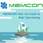 MEMCON has arrived in Kiel Germany