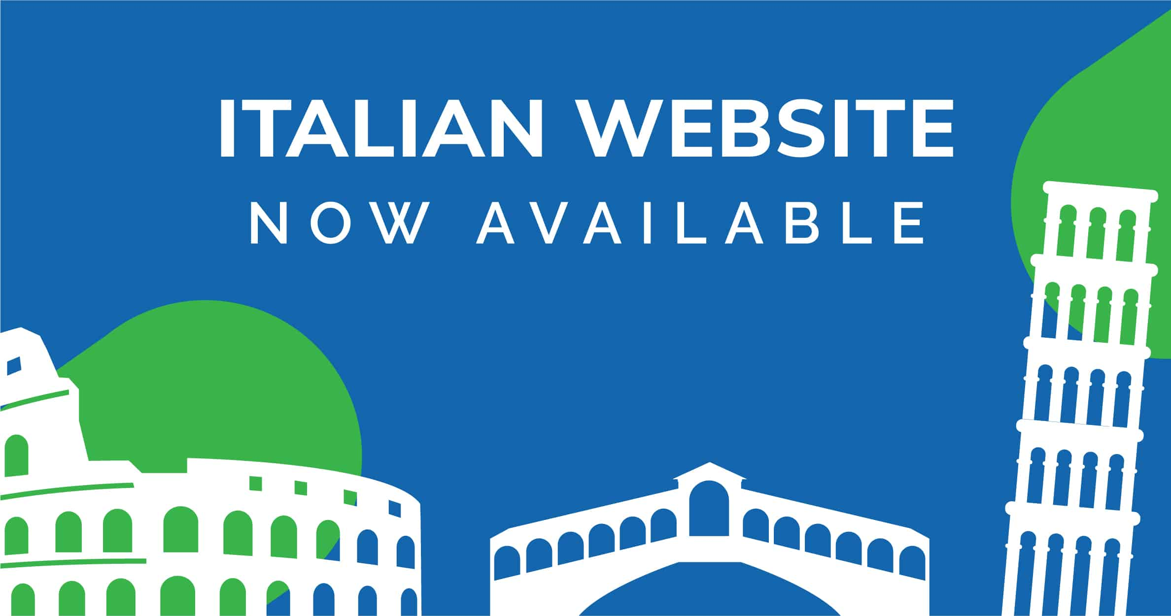 Memcon website is now available in Italian language